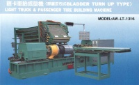 Light truck & passenger tire building machine (Bladder turn up type)
