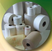 Toilet paper roll /kitchen towel roll machine