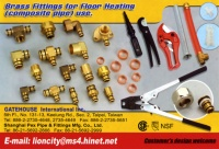 Brass Fittings For Floor Heating( Composite Pipe) use