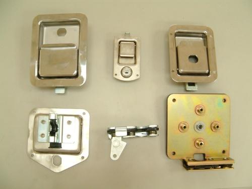旋轉式彈簧門鎖