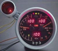 5 Inches Tachometer (W/Shift-Light)