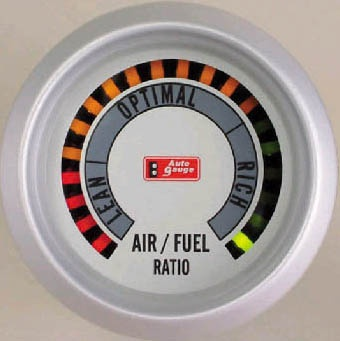 2 Inches Air Fuel/Ratio Gauge