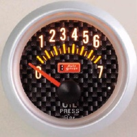 Cens.com Electrical 2 Inches Oil Pressure Gauge(W/Sender) AUTO GAUGE (TAIWAN) CO., LTD.