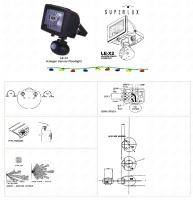 Halogen Sensor Floodlight