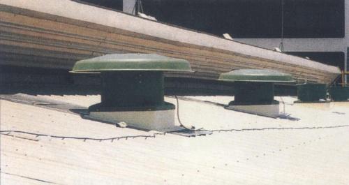 屋頂軸流式抽風機