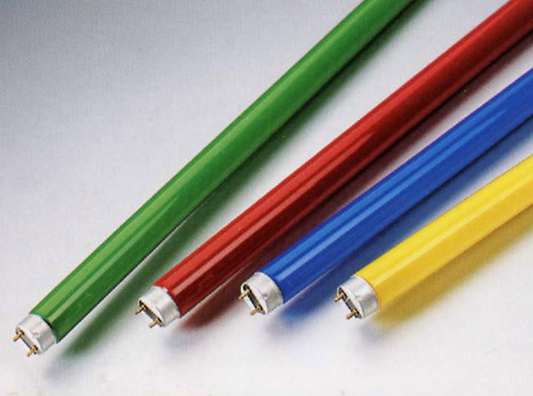 Colour Fluorescent Tubes / Super Yellow Mosquito Repelling Tubes