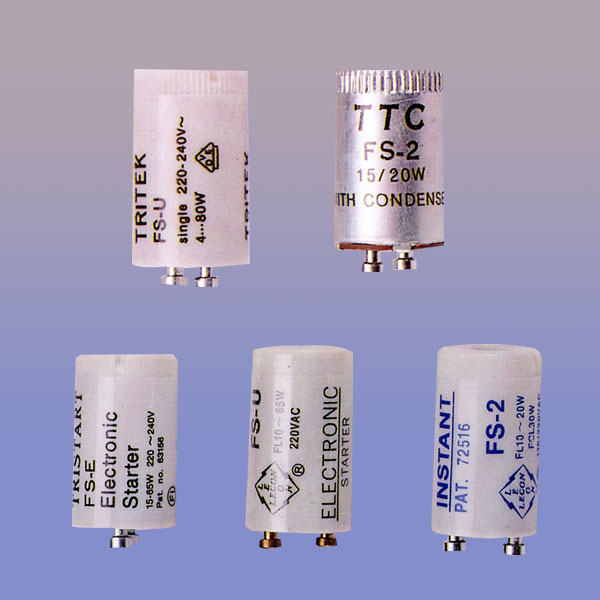 Conventional Fluorescent Starters Electronic Starters