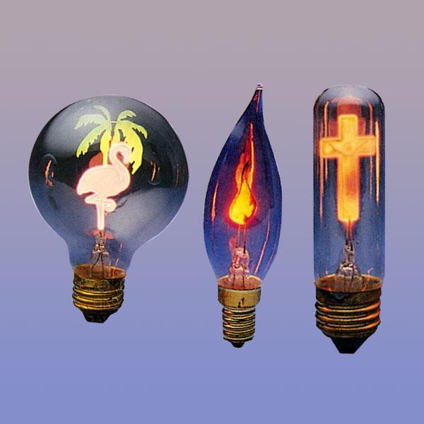 Flicker Flame Bulbs Flower Light Bulbs Neon Symbolite Tulbs Tritek Taiwan Corporation