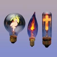 Flicker Flame Bulbs, Flower Light Bulbs, Neon Symbolite Tulbs