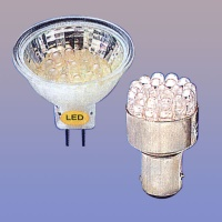 Car LED Bulbs /	Decorative LED Bulbs / Indicator LED Bulbs
