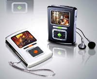 7 in 1 Palm size CM 100 Color MP3 Player