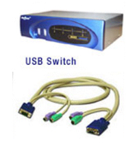 KVM (Keyboard, Video, Mouse) Switches