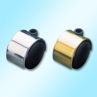 Twin-Wheel Nylon Castors (with polished chrome or brass stems)