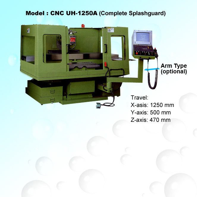 CNC Universal Bed-Type Milling Machine