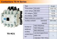Contactors TS-N Series