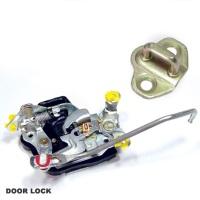 Door Lock Assy & Door Striker