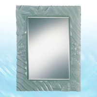 Kiln Formed Glass Mirror