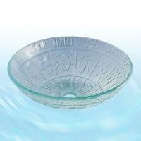 Glass Washbasin-Transparent&Horoscope