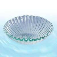 Seashell Glass Washbasin