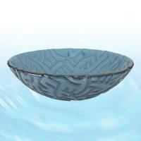 Glass Washbasin-Blue(Rainbow)