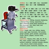 Soft-material Cutting and Jaw-crushing Machine
