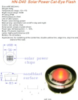 SOLAR POWER CAT-EYE FLASH