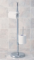 L-shape tissue paper roll stand