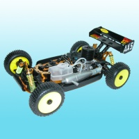 Remote-controlled car