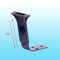 Rotary-style height adjustment Ergo arm