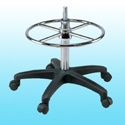 Adjustable footring w/Internal lock & release Mechanism (Round steel ring & spoke)_CH