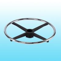 Adjustable footring w/Internal lock & release Mechanism (Round steel ring & Aluminum spoke)_CH&BK