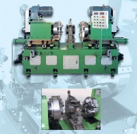Rotary Cutting Machine (for double-end faces of nodular graphite cast-iron valve units; 230~40mm dia