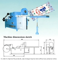 Handy Wet Tissue Folding Machine