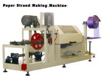 Paper Strand Making Machine