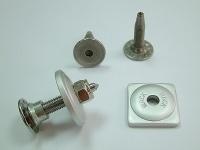 Stainless-steel snowmobile screws