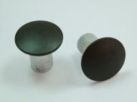 Aluminum semi-tubular rivets