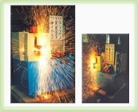 Iron tube/sheet flash-butt welding machine
