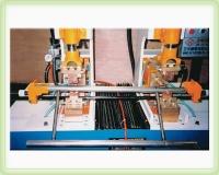 Vanity frame/dining table frame butt-welding machine