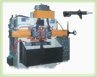 Automobile shock-absorber seam-welding machine