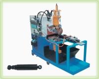 Motorcycle shock-absorber seam-welding machine