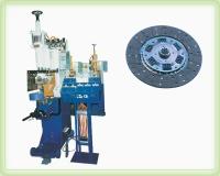 Clutch spot-welding machine