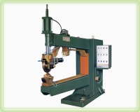 Auto pneumatic wheel welding machine