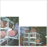 Round-Mold Storage Racks With Drawers