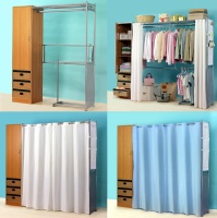 Clothes Cabinet with Extened Shelf