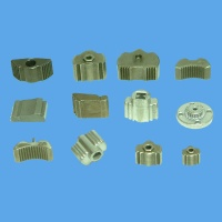 Warm compaction formed parts