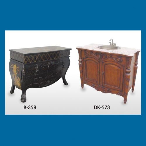 木制置物台