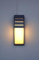 半圓V形草坪燈
