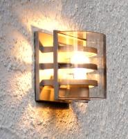 雙層三柵壁燈
