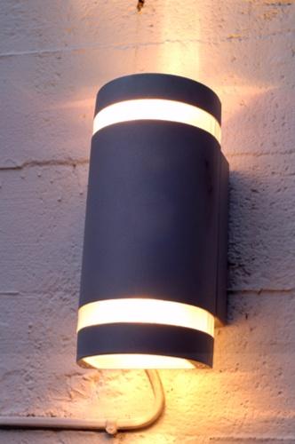 half round wall spot light (double light)