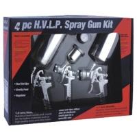 4PC H.V.L.P. SPRAY GUN KIT